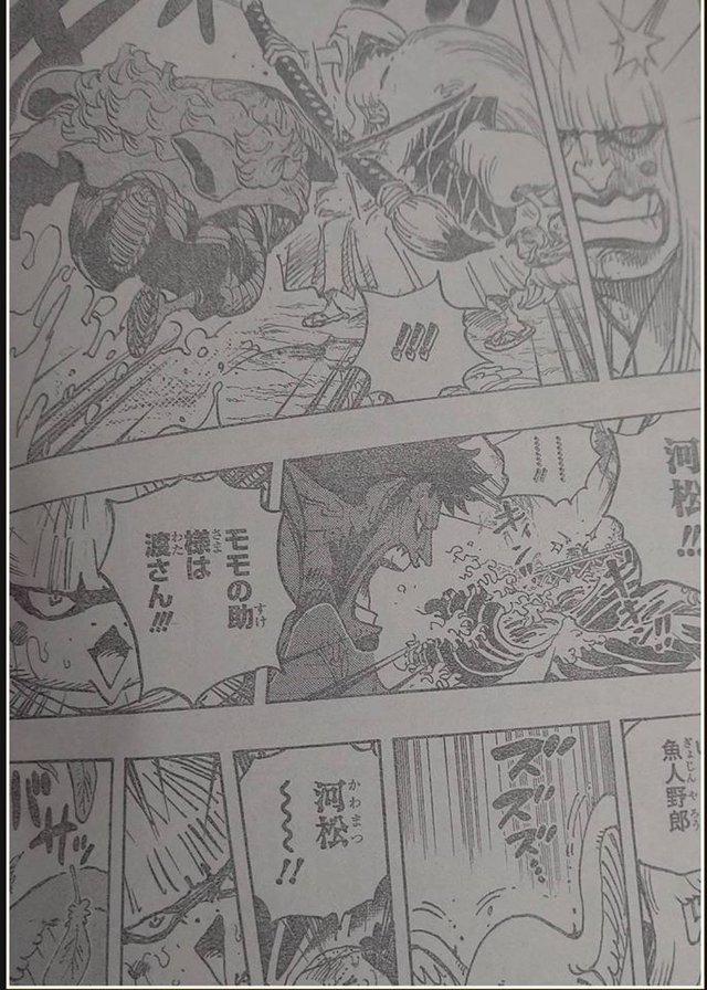 Spoiler One Piece 976 bản đầy đủ: Momonosuke muốn tự tay tiêu diệt Kaido và Orochi, Jinbei gặp lại Luffy tại Wano quốc! - Ảnh 2.
