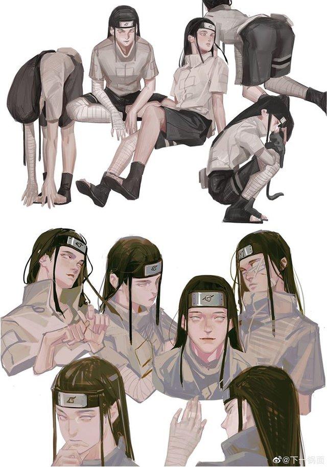 Ngỡ ngàng ngắm loạt fan art Naruto mang vẻ đẹp siêu thực, nhìn không thể rời mắt - Ảnh 2.