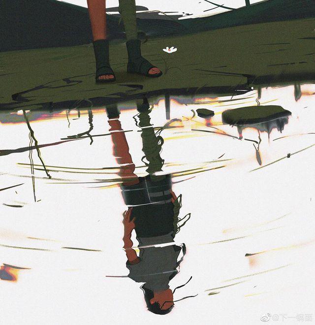 Ngỡ ngàng ngắm loạt fan art Naruto mang vẻ đẹp siêu thực, nhìn không thể rời mắt - Ảnh 5.