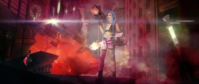 Đốn tim trước bộ ảnh Cosplay Jinx của hot streamer Michu: Trước sau như một y hệt bản gốc - Ảnh 7.