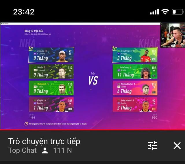 Độ Mixi, PewPew, ViruSs lập team Tấu Hài tại chế độ Volta Live 4v4 mới của FIFA Online 4 - Ảnh 2.