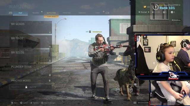 Xuất hiện Shroud phiên bản nhí, thần đồng Call of Duty: Warzone 5 tuổi: Thao tác nhoay nhoáy, cứ bật ngắm là headshot - Ảnh 1.
