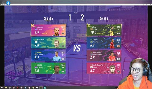 Độ Mixi, PewPew, ViruSs lập team Tấu Hài tại chế độ Volta Live 4v4 mới của FIFA Online 4 - Ảnh 4.