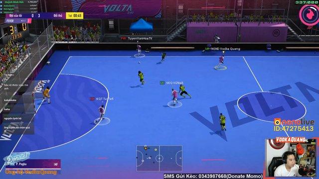 Độ Mixi, PewPew, ViruSs lập team Tấu Hài tại chế độ Volta Live 4v4 mới của FIFA Online 4 - Ảnh 8.
