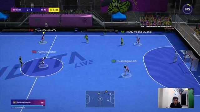 Độ Mixi, PewPew, ViruSs lập team Tấu Hài tại chế độ Volta Live 4v4 mới của FIFA Online 4 - Ảnh 9.
