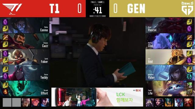 Chấp hơi sâu khi mất 2 lượt cấm ván 1, T1 vẫn dễ dàng hủy diệt Gen.G, giành chức vô địch LCK lần thứ 3 liên tiếp - Ảnh 2.