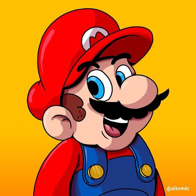 """Tuổi thơ Mario của game thủ bị """"hủy hoại"""" vô cùng tàn nhẫn với những hình ảnh này, khuyến cáo không dành cho trẻ dưới 12 tuổi - Ảnh 7."""