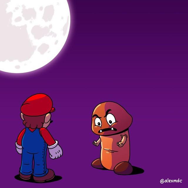 """Tuổi thơ Mario của game thủ bị """"hủy hoại"""" vô cùng tàn nhẫn với những hình ảnh này, khuyến cáo không dành cho trẻ dưới 12 tuổi - Ảnh 2."""