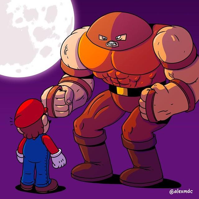 """Tuổi thơ Mario của game thủ bị """"hủy hoại"""" vô cùng tàn nhẫn với những hình ảnh này, khuyến cáo không dành cho trẻ dưới 12 tuổi - Ảnh 5."""