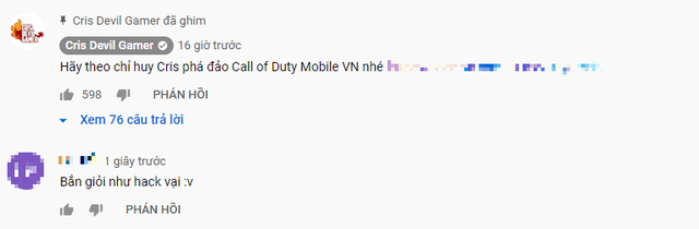Cris Phan dùng mánh trong Call of Duty: Mobile VN để giành Top 1 khiến đối phương chỉ biết câm lặng - Ảnh 6.