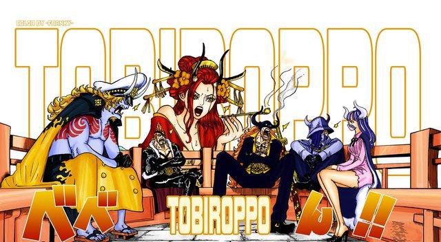 Spoiler One Piece 979: Con trai Kaido được tiết lộ kĩ hơn, Flying Six muốn đối đầu với bộ ba tam tai để tranh giành chức vị! - Ảnh 4.