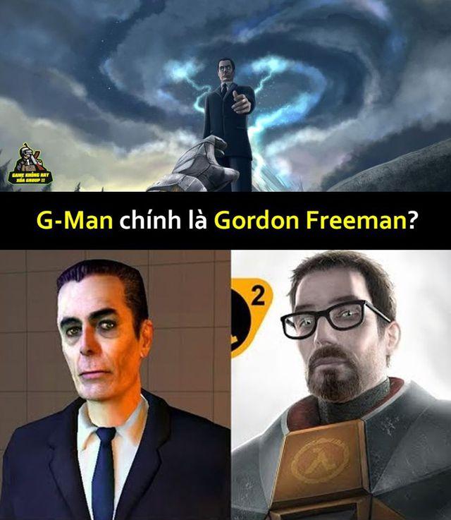 Giả thuyết Half-Life: Người đàn ông bí ẩn G-man chính là Gordon Freeman? - Ảnh 1.
