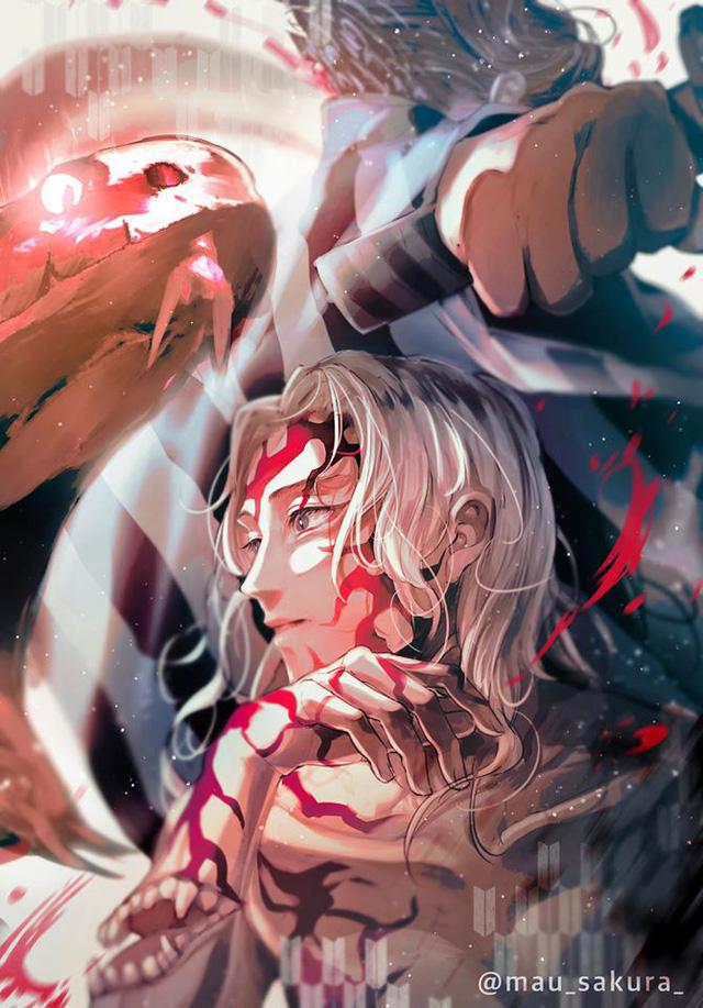 Bỗng dưng muốn khóc khi chiêm ngưỡng loạt fan art đầy cảm xúc về các nhân vật Kimetsu no Yaiba - Ảnh 3.