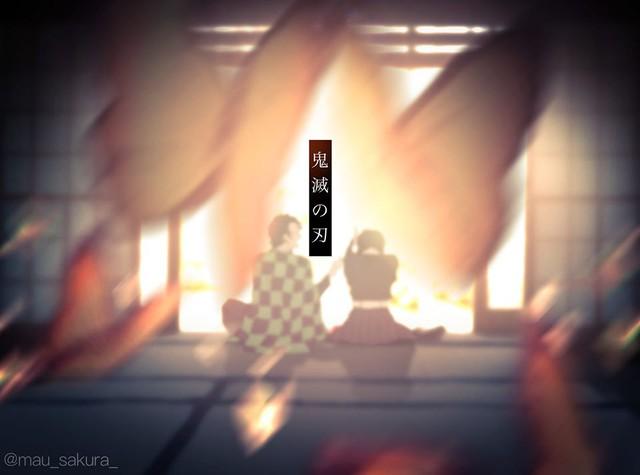 Bỗng dưng muốn khóc khi chiêm ngưỡng loạt fan art đầy cảm xúc về các nhân vật Kimetsu no Yaiba - Ảnh 7.