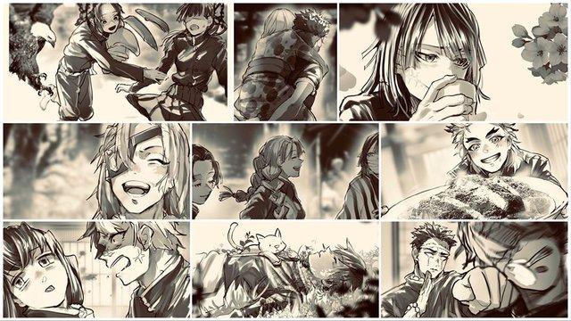 Bỗng dưng muốn khóc khi chiêm ngưỡng loạt fan art đầy cảm xúc về các nhân vật Kimetsu no Yaiba - Ảnh 14.