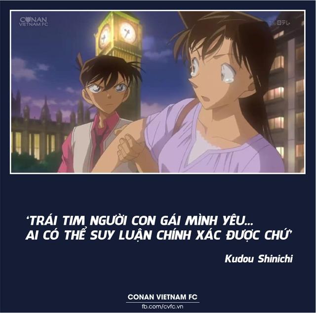 Xem các cặp đôi trong Thám tử lừng danh Conan thả thính nhau mà cảm thán Thật lợi hại! - Ảnh 1.