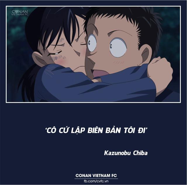 Xem các cặp đôi trong Thám tử lừng danh Conan thả thính nhau mà cảm thán Thật lợi hại! - Ảnh 3.