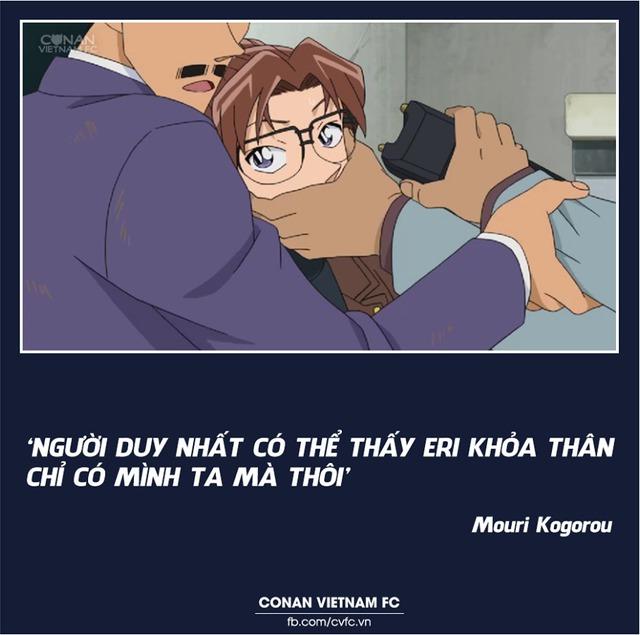 Xem các cặp đôi trong Thám tử lừng danh Conan thả thính nhau mà cảm thán Thật lợi hại! - Ảnh 9.