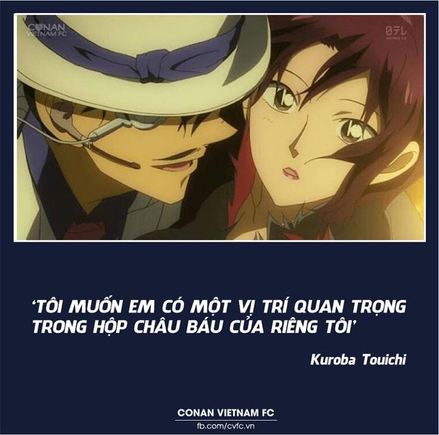 Xem các cặp đôi trong Thám tử lừng danh Conan thả thính nhau mà cảm thán Thật lợi hại! - Ảnh 11.