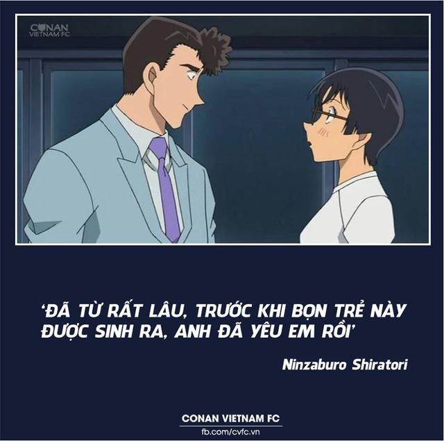Xem các cặp đôi trong Thám tử lừng danh Conan thả thính nhau mà cảm thán Thật lợi hại! - Ảnh 15.