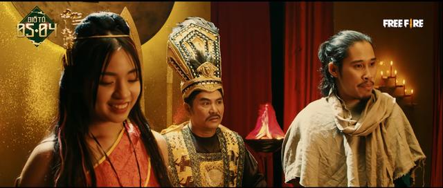 Công chúa Tiktok vào vai Mị Nương khiến gamer Free Fire thốt lên: Thủy Tinh và Sơn Tinh yêu nhau cho khỏe - Ảnh 3.