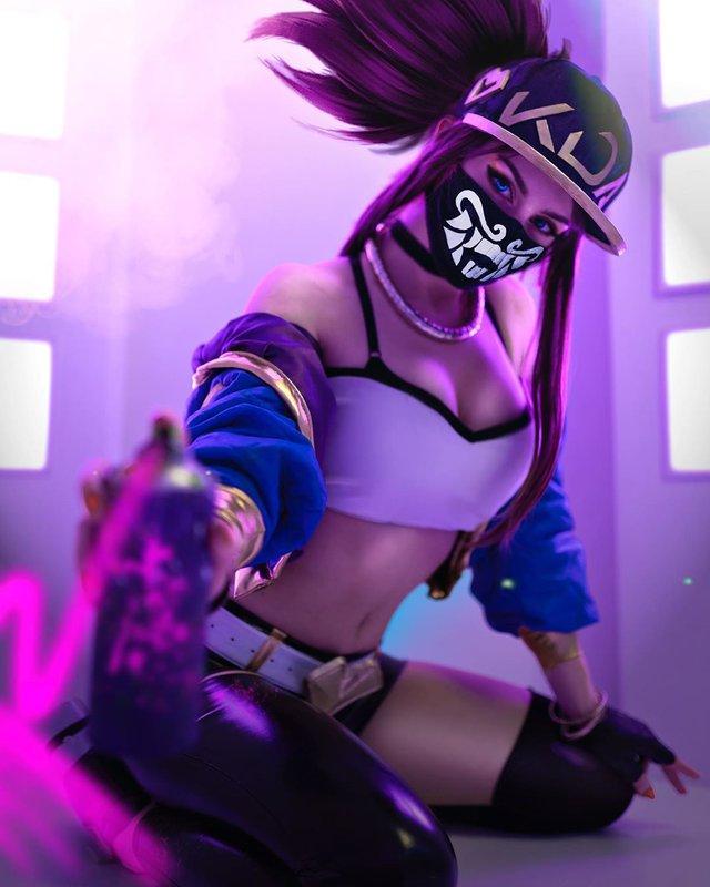 Nóng con mắt bên trái, nhức con mắt bên phải với siêu phẩm cosplay KaiSa của mỹ nhân xứ Bạch dương - Ảnh 7.