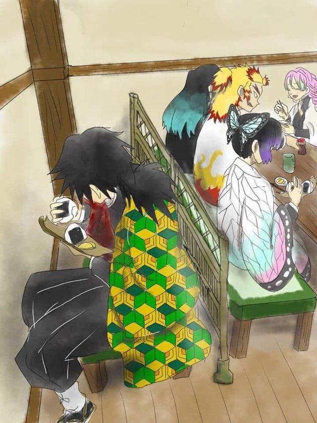 Giải khuây những ngày dài ở nhà trốn dịch với loạt ảnh tấu hài của các nhân vật Kimetsu no Yaiba - Ảnh 12.