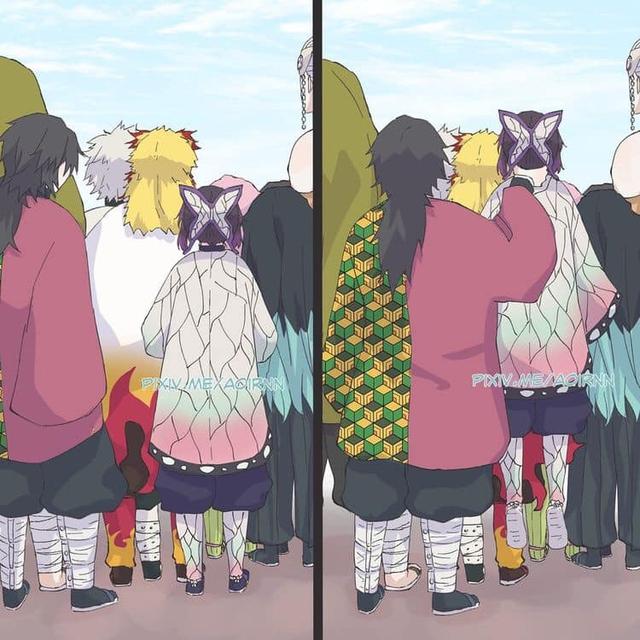 Giải khuây những ngày dài ở nhà trốn dịch với loạt ảnh tấu hài của các nhân vật Kimetsu no Yaiba - Ảnh 15.