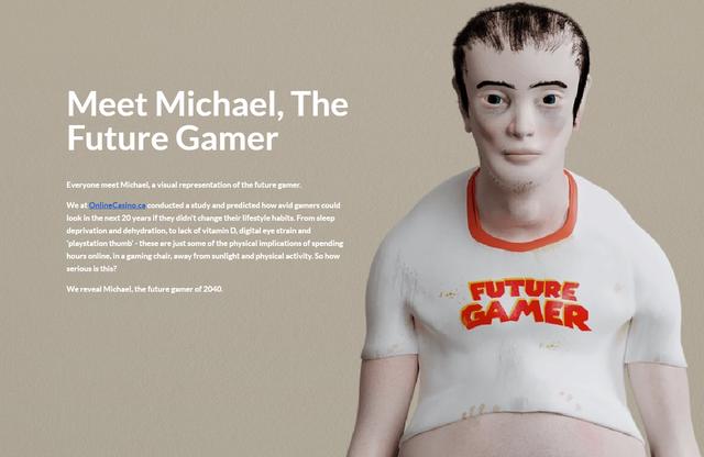 """Bộ ảnh sốc về sự """"tiến hóa"""" kinh khủng của con người sau 20 năm nữa, nếu quá nghiện game - Ảnh 1."""