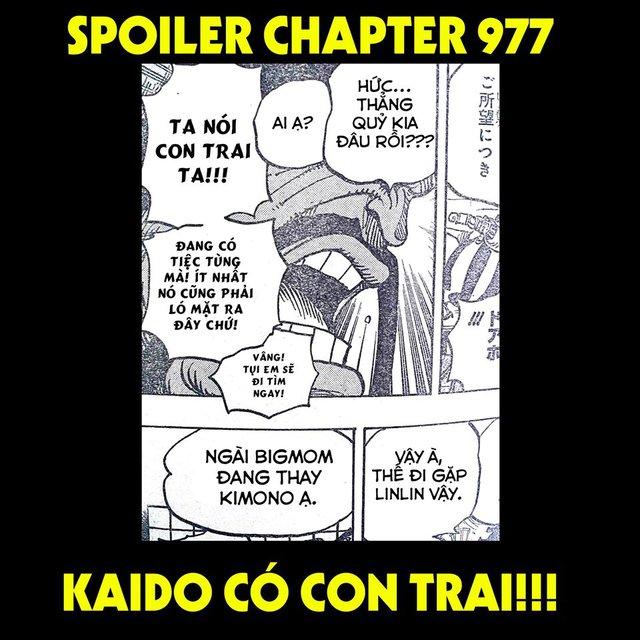 Cực sốc: Kaido có con trai và Big Mom muốn diện Kimono Nhật Bản trong chương mới của One Piece - Ảnh 1.