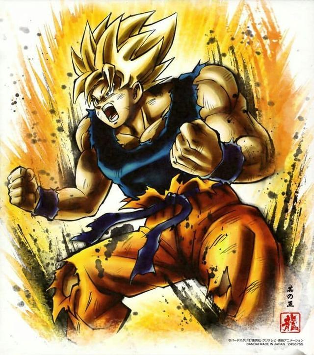 Ngắm loạt fanart Dragon Ball đơn giản mà chất, truyền tải nguyên vẹn thần thái của mỗi nhân vật - Ảnh 4.