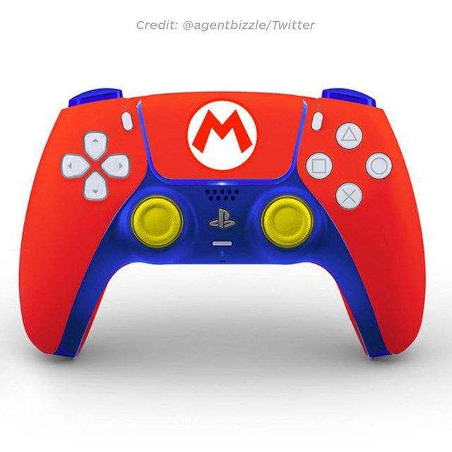 Thèm thuồng với những mẫu thiết kế tay cầm PS5 tuyệt đẹp - Ảnh 8.