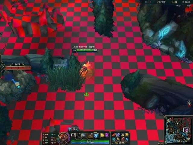 Summoners Rift dính bug biến cả bản đồ thành bàn cờ caro khổng lồ, nhưng game thủ thì lại... vô cùng hào hứng - Ảnh 2.
