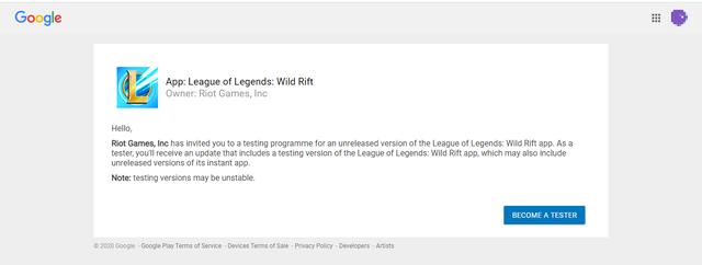 """Hướng dẫn trở thành Tester LMHT: Tốc Chiến, hiện """"Install"""" trên Google Play và chờ """"tin vui"""" của Riot - Ảnh 4."""