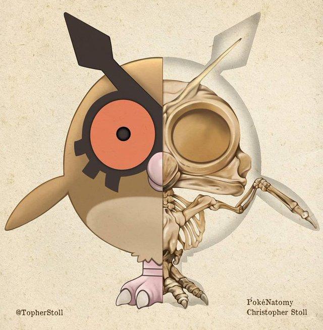 Bộ tranh giải phẫu Pokemon độc nhất vô nhị khiến các fan ruột trầm trồ vì quá đỉnh - Ảnh 13.