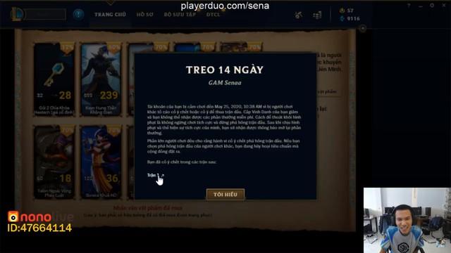 LMHT: Feed tới 16 mạng 1 game, ông trùm kiểm soát Sena bị khóa tài khoản ngay khi đang stream giữa chừng - Ảnh 3.