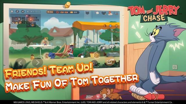 Game sinh tồn đặc biệt Tom and Jerry với lối chơi cực vui và không kém phần hại não - Ảnh 3.