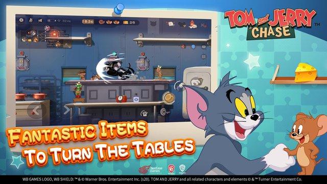 Game sinh tồn đặc biệt Tom and Jerry với lối chơi cực vui và không kém phần hại não - Ảnh 4.