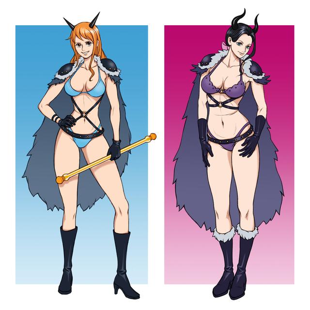 One Piece: Cận cảnh thiết kế trang phục mới của Nami và Robin tại arc Wano, sexy và gợi cảm đến khó cưỡng - Ảnh 3.