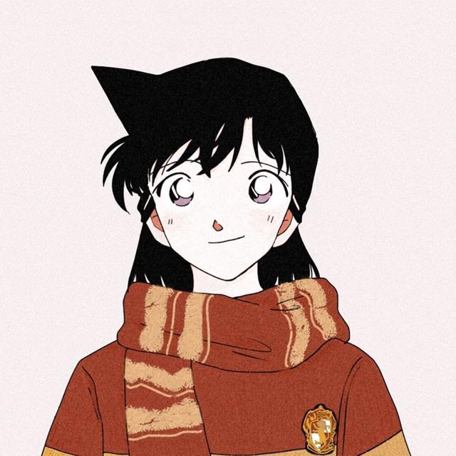Dàn trai xinh gái đẹp trong Thám tử lừng danh Conan thật xứng lứa vừa đôi trong loạt ảnh avatar cặp - Ảnh 2.
