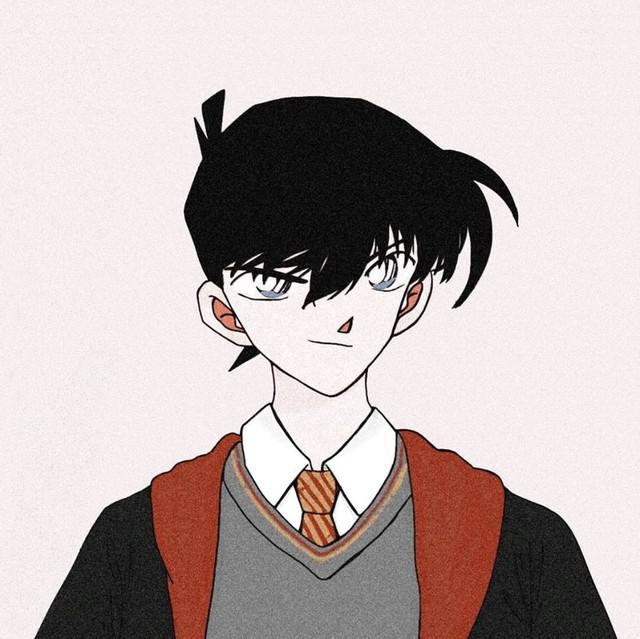 Dàn trai xinh gái đẹp trong Thám tử lừng danh Conan thật xứng lứa vừa đôi trong loạt ảnh avatar cặp - Ảnh 1.