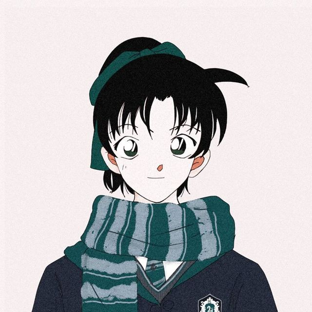 Dàn trai xinh gái đẹp trong Thám tử lừng danh Conan thật xứng lứa vừa đôi trong loạt ảnh avatar cặp - Ảnh 6.