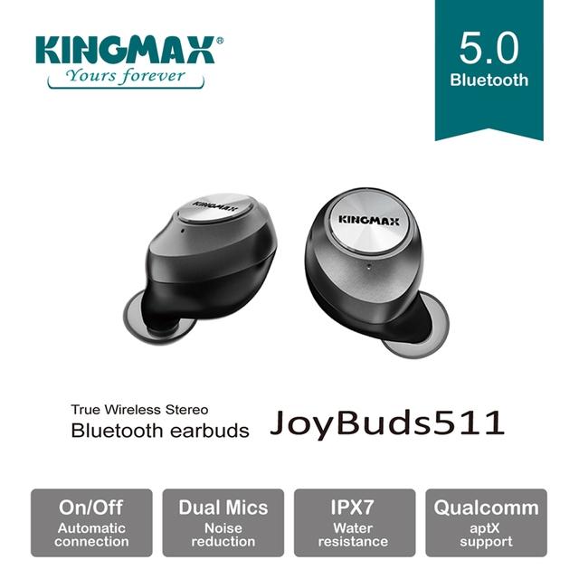 Kingmax ra mắt tai nghe bluetooth JoyBuds511: gọn nhẹ, đầy đủ tính năng cùng giá thành phải chăng - Ảnh 3.