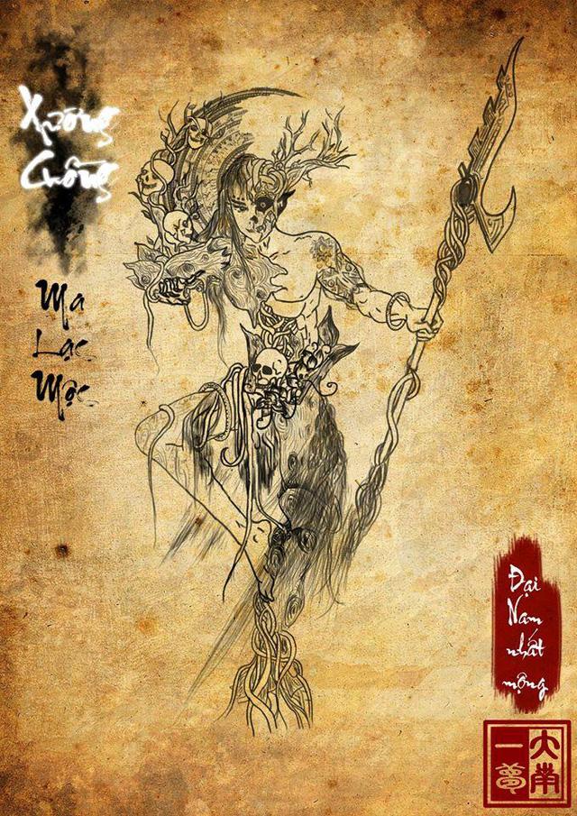 Giai thoại ly kỳ về quỷ thánh Xương Cuồng và tục hiến tế của người Việt cổ - Ảnh 2.