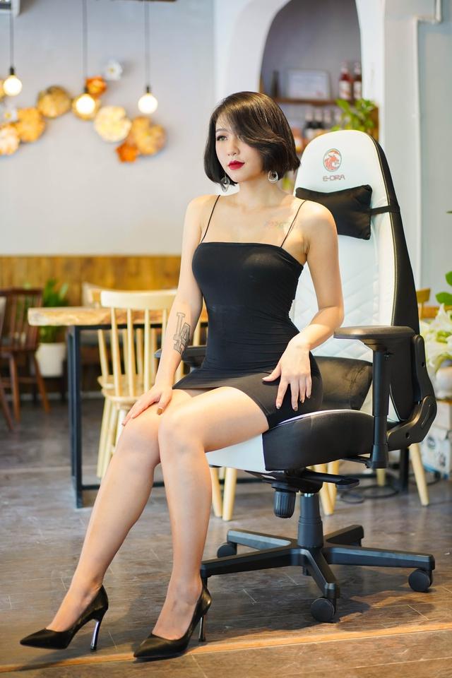 Chiêm ngưỡng cặp đôi ghế gaming da thật xịn xò của E-Dra: Mượt êm mà giá lại còn ngon nghẻ - Ảnh 2.