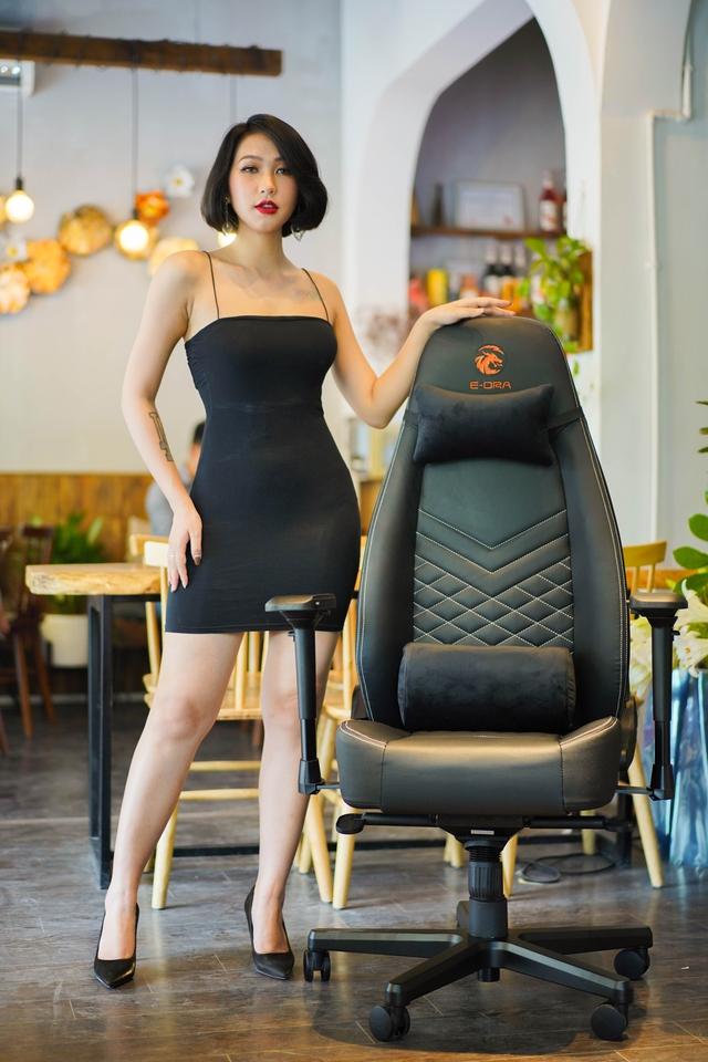 Chiêm ngưỡng cặp đôi ghế gaming da thật xịn xò của E-Dra: Mượt êm mà giá lại còn ngon nghẻ - Ảnh 3.