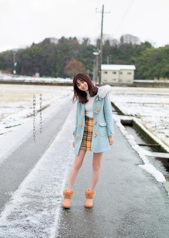 Đứng hình trước Enosawa Manami - ngọc nữ của làng người mẫu áo tắm Nhật Bản - Ảnh 1.