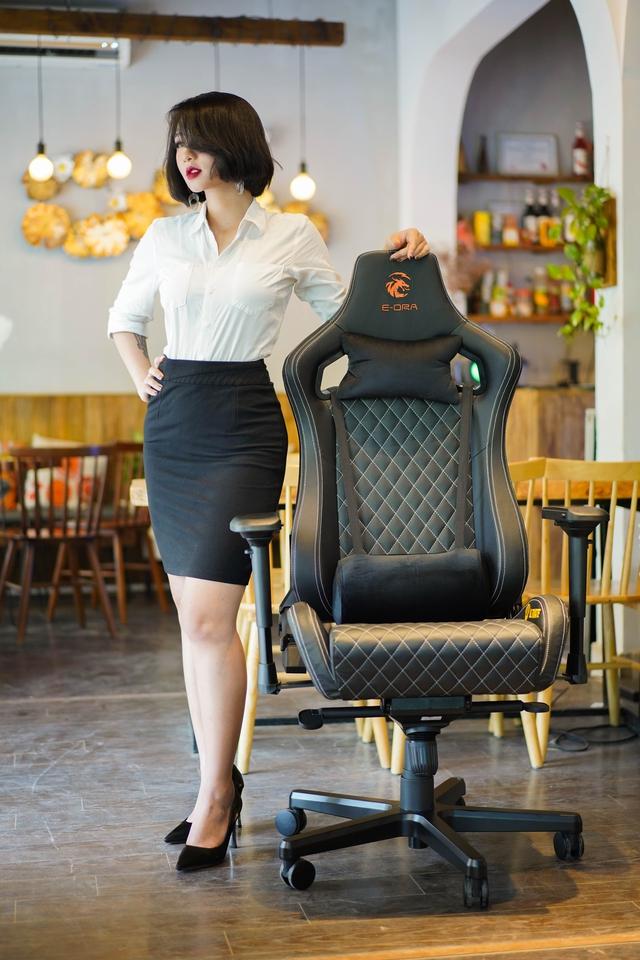 Chiêm ngưỡng cặp đôi ghế gaming da thật xịn xò của E-Dra: Mượt êm mà giá lại còn ngon nghẻ - Ảnh 7.