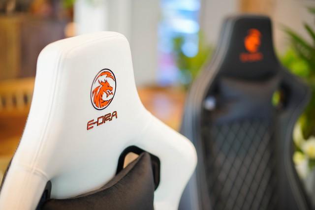 Chiêm ngưỡng cặp đôi ghế gaming da thật xịn xò của E-Dra: Mượt êm mà giá lại còn ngon nghẻ - Ảnh 10.