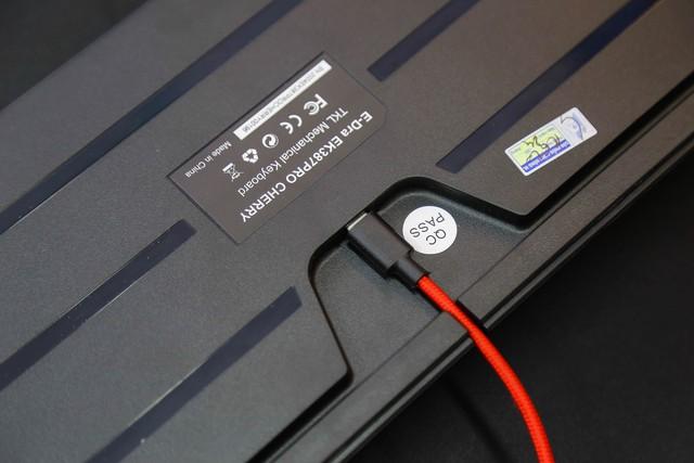 Xuất hiện mẫu phím cơ cherry switch rẻ mà ngon nhất VN: E-Dra EK387 Pro Cherry - Ảnh 7.